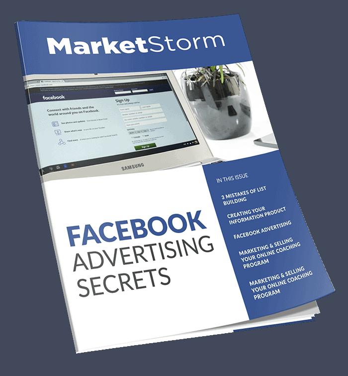 Facebook Advertising Secrets Master Resell Rights Magazine