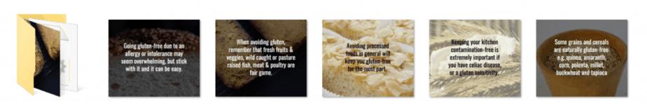Gluten Free PLR Social Graphics