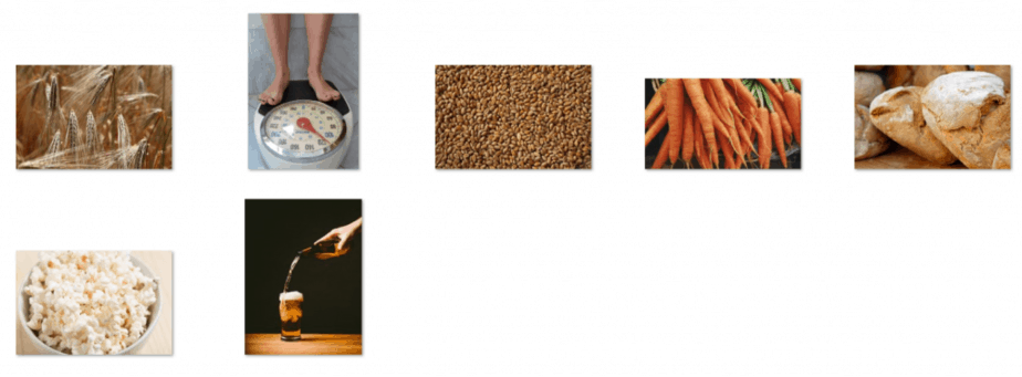 Gluten Free Royalty Free Images