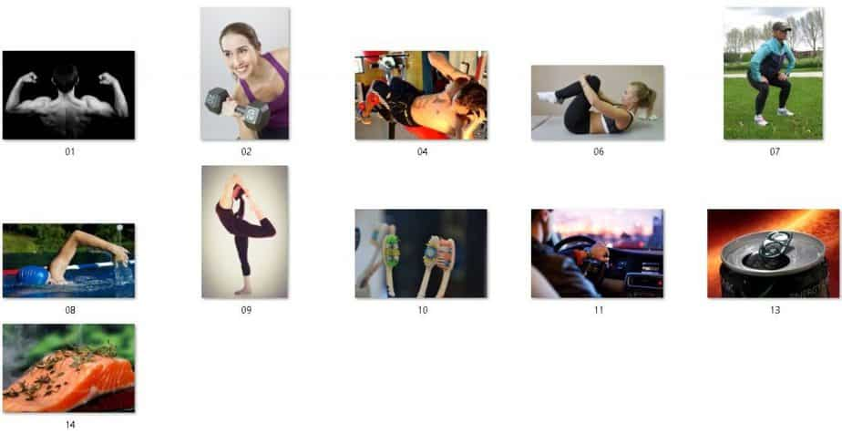 Health Back Fitness Royalty Free Images