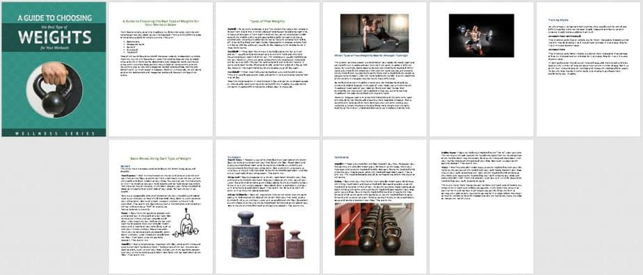 Kettlebells Premium PLR Report Sneak Preview