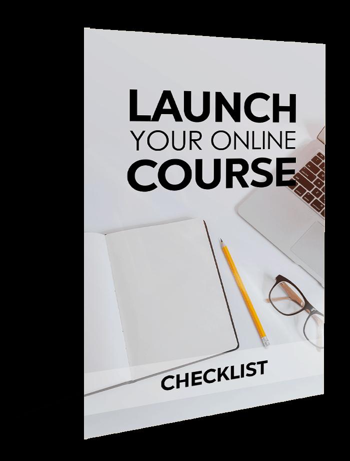 Launch Your Online Course Checklist