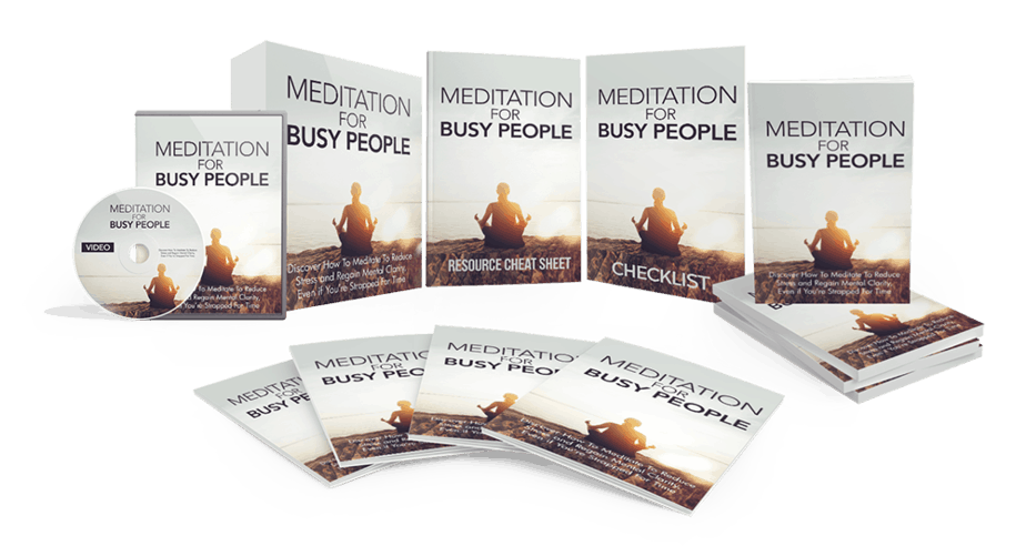 Meditation For Busy People Bundle