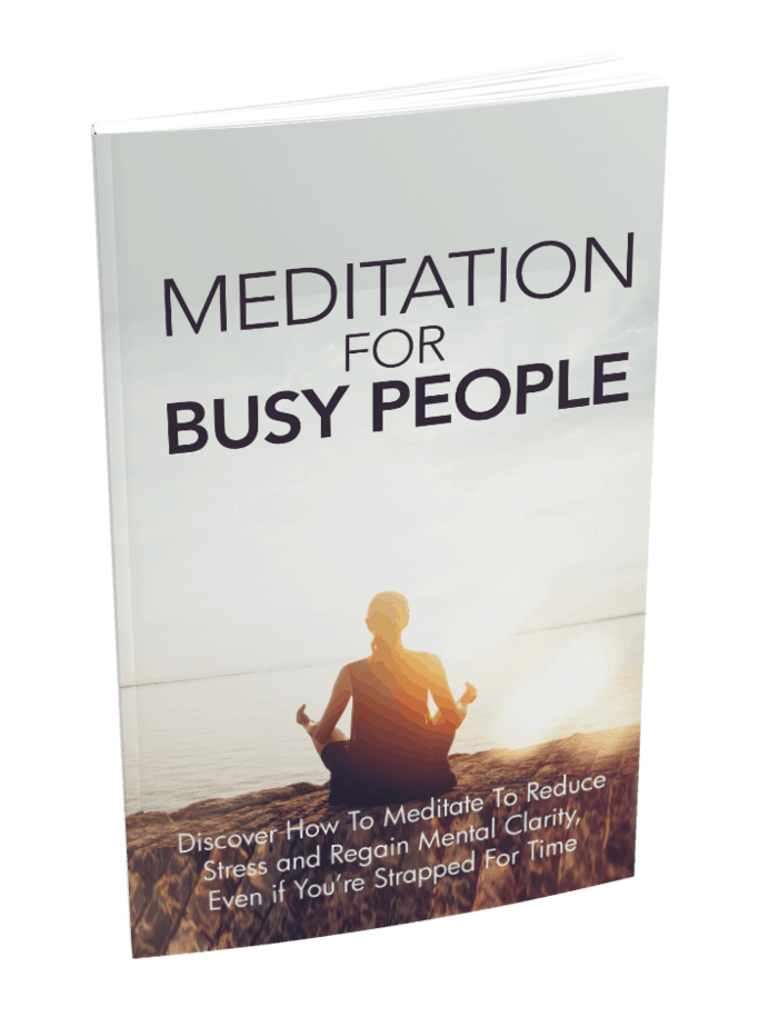 Meditation For Busy People Ebook
