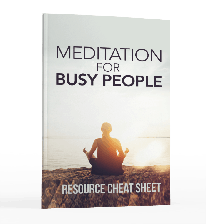 Meditation For Busy People Resource