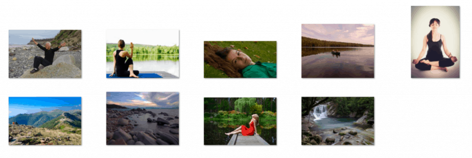 Meditation and Mindfulness Royalty Free Images