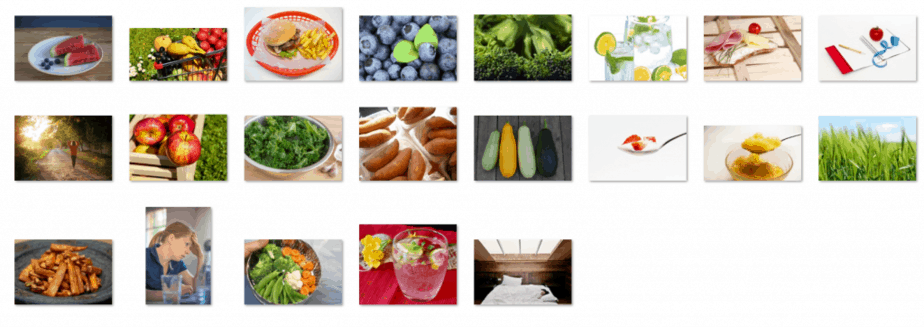 Mindful Eating Royalty Free Images