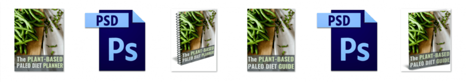 Plant Based Paleo PLR Editable Ecovers