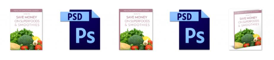 Save on Superfoods PLR Editable Ecovers