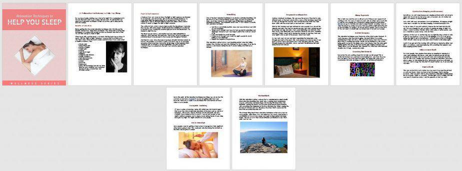Sleep Health Better Sleep Premium PLR Report Sneak Preview