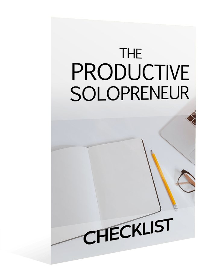 The Productive Solopreneur Checklist