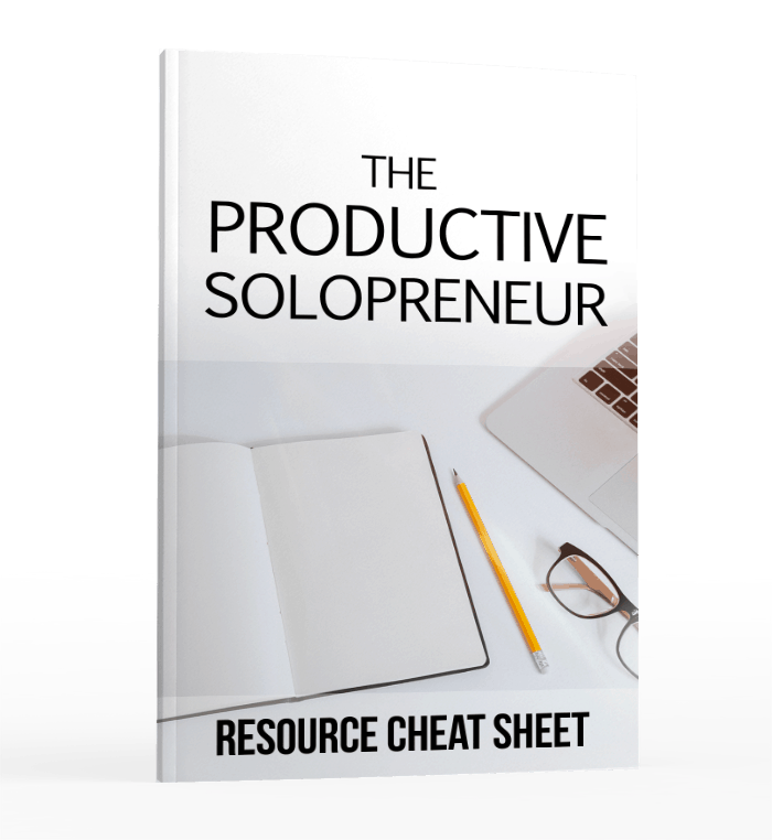 The Productive Solopreneur Resource