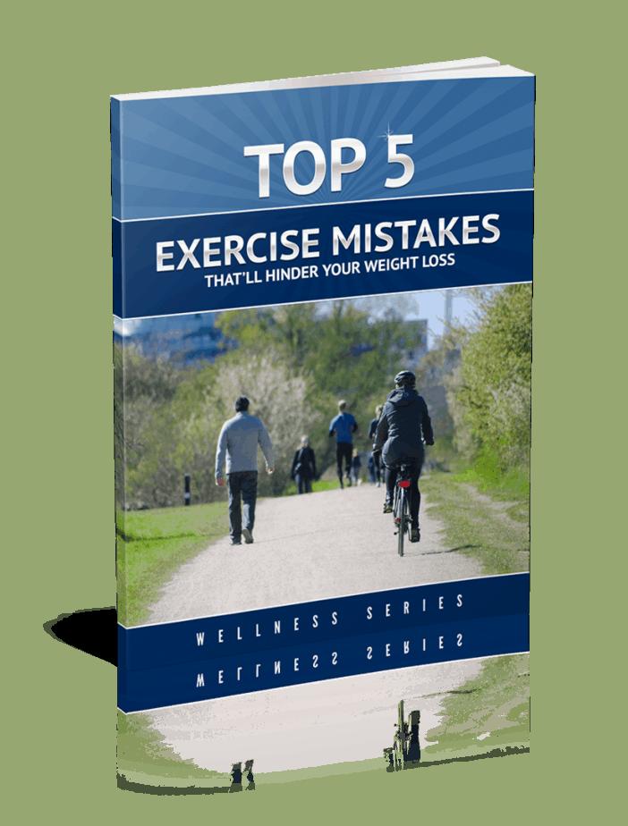 Top 5 Exercise Mistakes Premium PLR Report