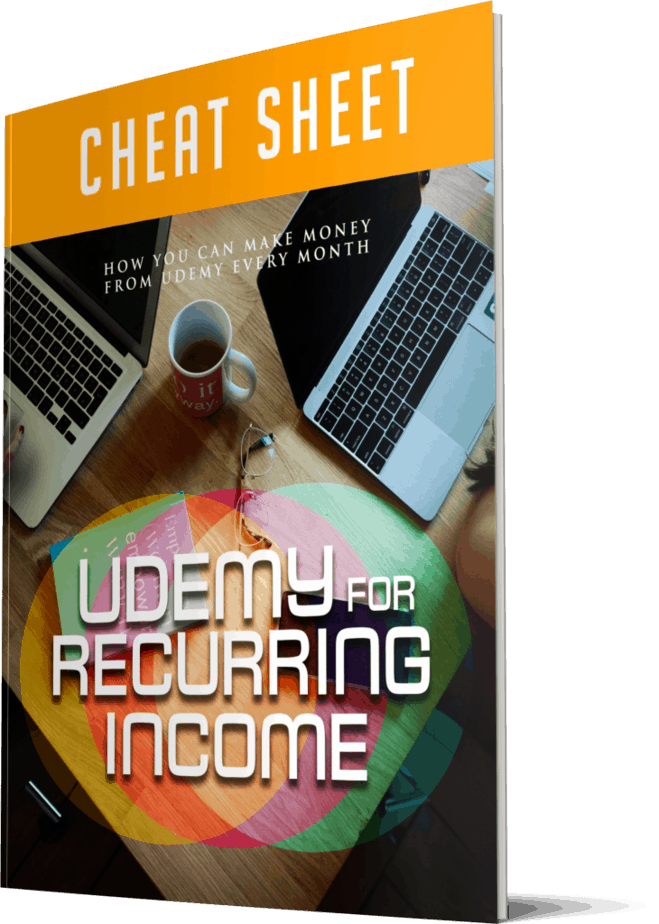 Udemy For Recurring Income Cheatsheet