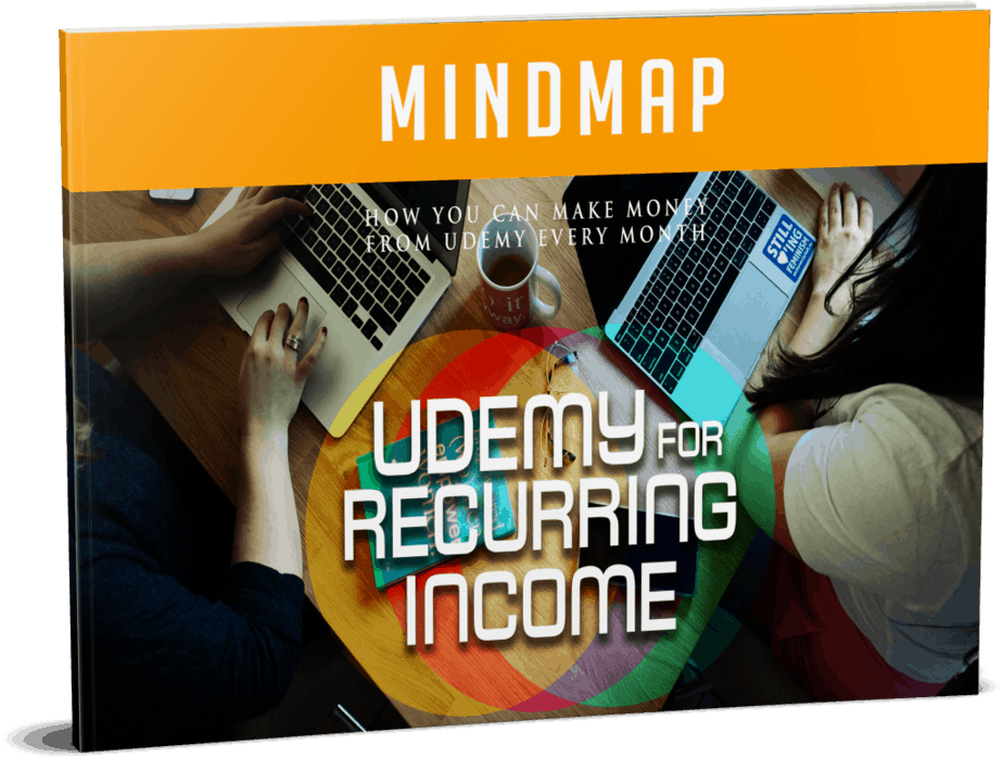 Udemy For Recurring Income Mindmap
