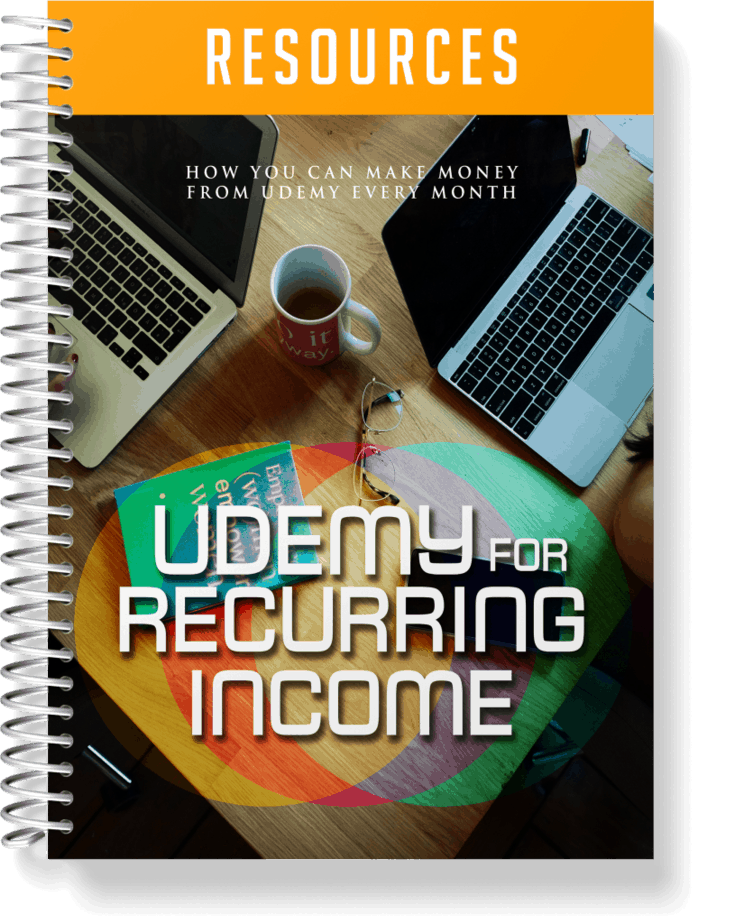 Udemy For Recurring Income Resources