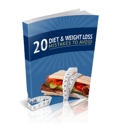 Diet and Weight Loss Mistakes Premium PLR Ebook