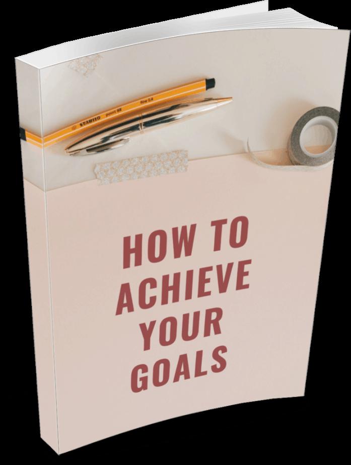 Achieve Your Goals Premium PLR Ebook