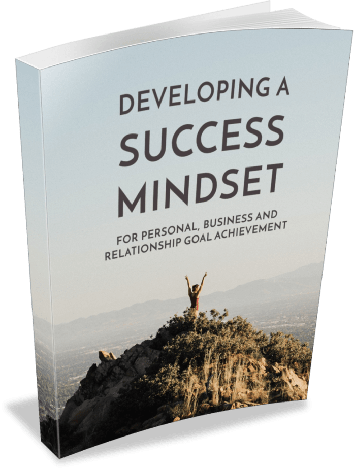 Developing A Success Mindset Premium PLR Ebook