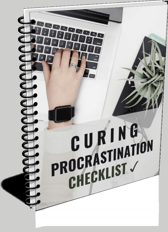 End Procrastination Premium PLR Checklist