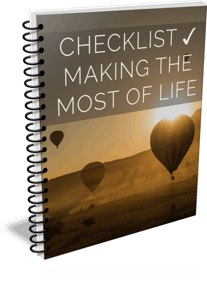 Making the Most of Life PLR Checklist