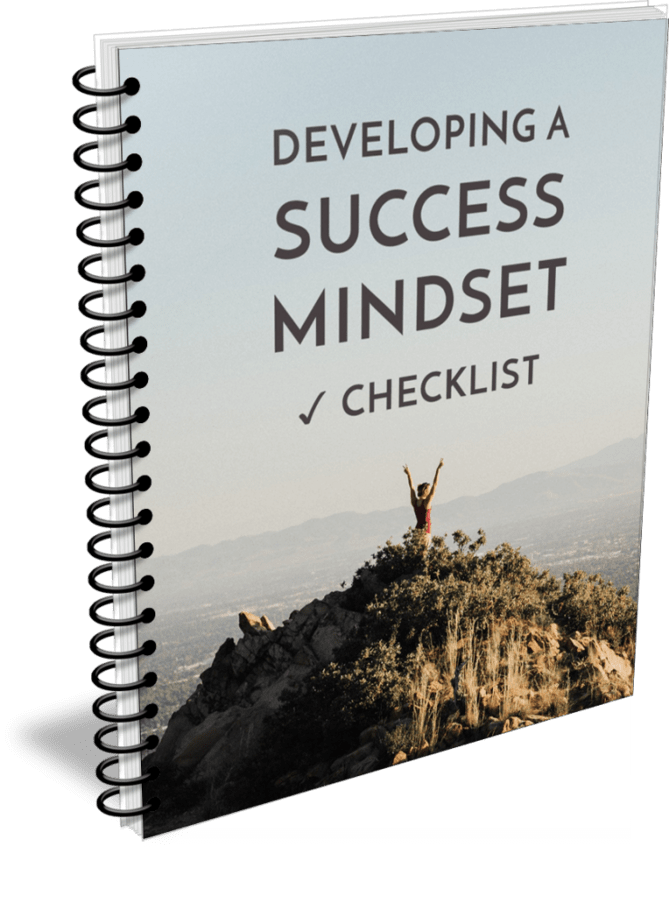 Developing A Success Mindset Premium PLR Checklist