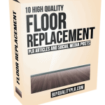 10 High Quality Floor Replacement PLR Articles and Social Posts
