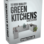 10 High Quality Green Kitchens PLR Articles