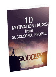 10 Motivation Hacks From Successful People MRR eBook and Optin Page