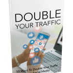 10 Ways To Double Your Traffic MRR eBook and Optin Page