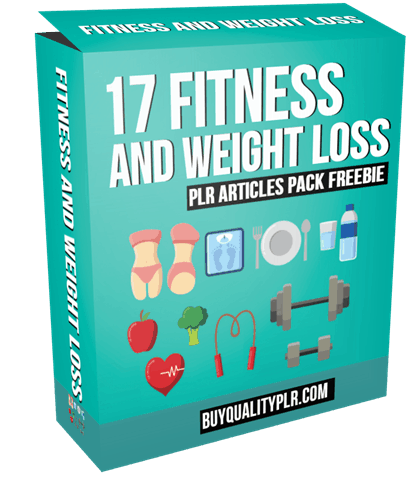 17 Fitness and Weight Loss PLR Articles Pack Freebie