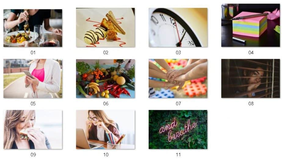 Comfort Eating Royalty Free Images