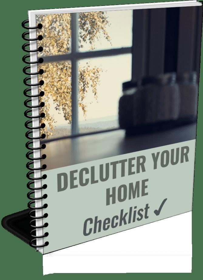 Declutter Your Home PLR Checklists