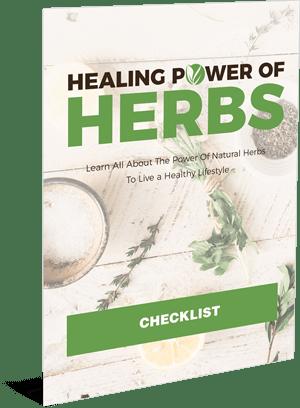 Healing Power Of Herbs checklist