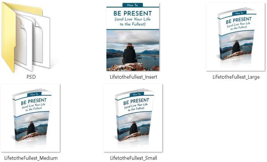 How to Be Present Premium PLR Ecovers
