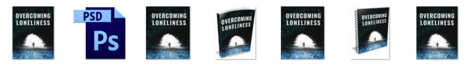 Loneliness PLR Editable Ecovers