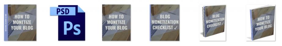 Monetize Your Blog PLR Editable eCover