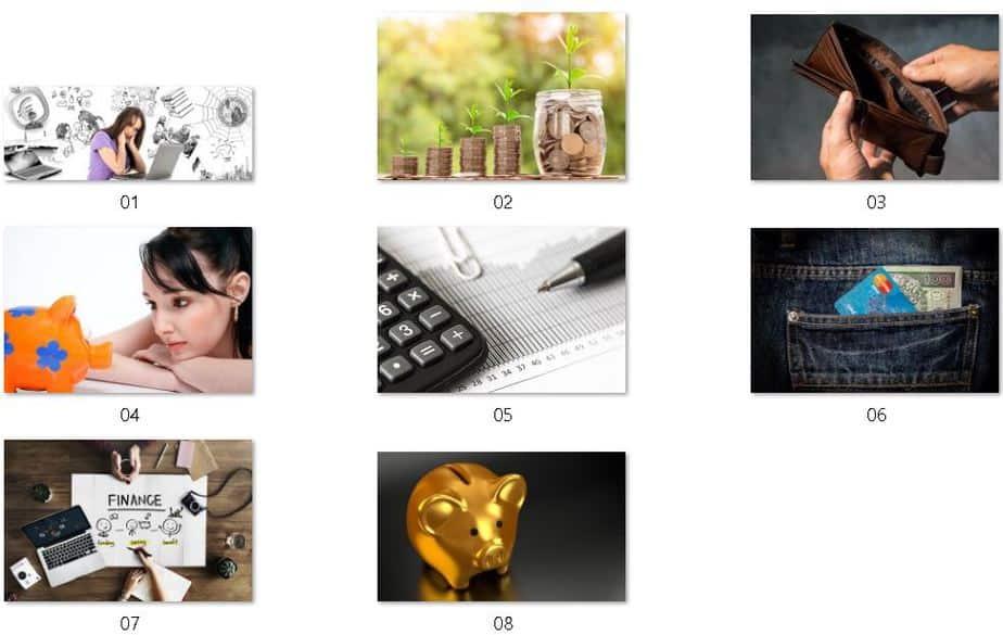 Money Mindset Royalty Free Images