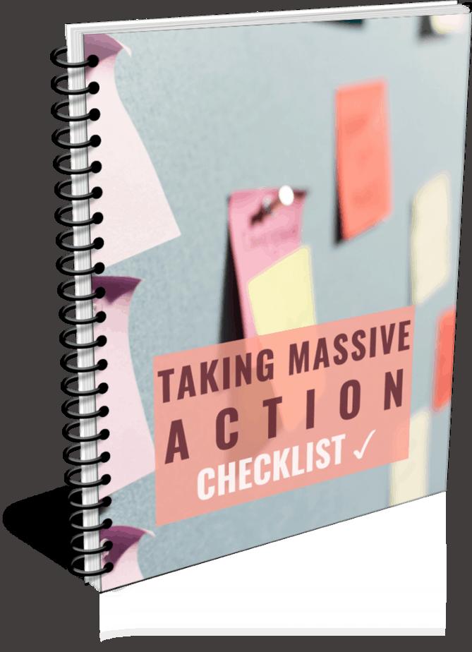 Take Massive Action PLR Checklist