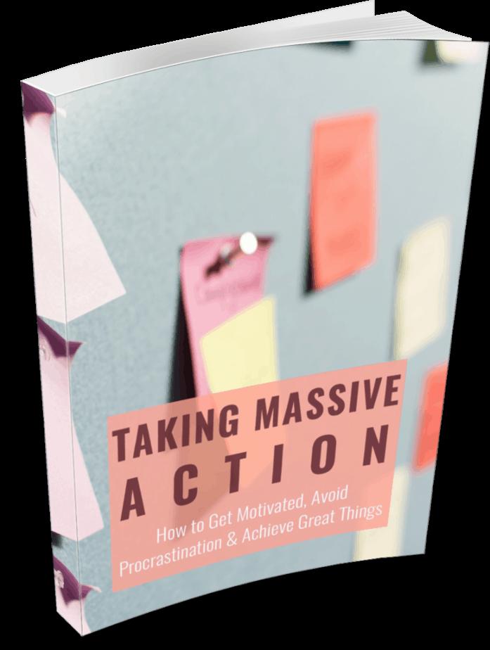 Take Massive Action PLR eBook