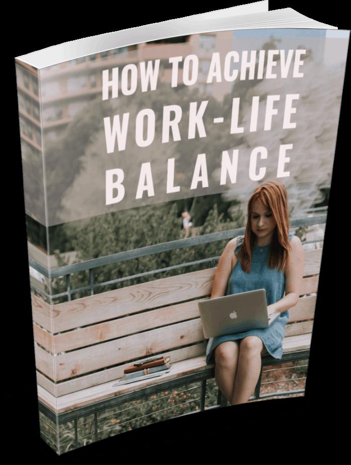 Work Life Balance PLR eBook