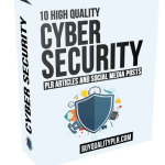10 High Quality Cyber Security PLR Articles and Social Posts
