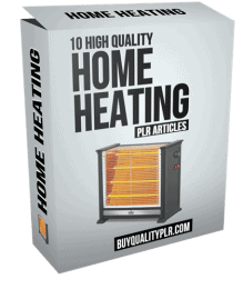 10 High Quality Home Heating PLR Articles