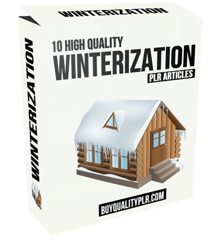 10 High Quality Winterization PLR Articles
