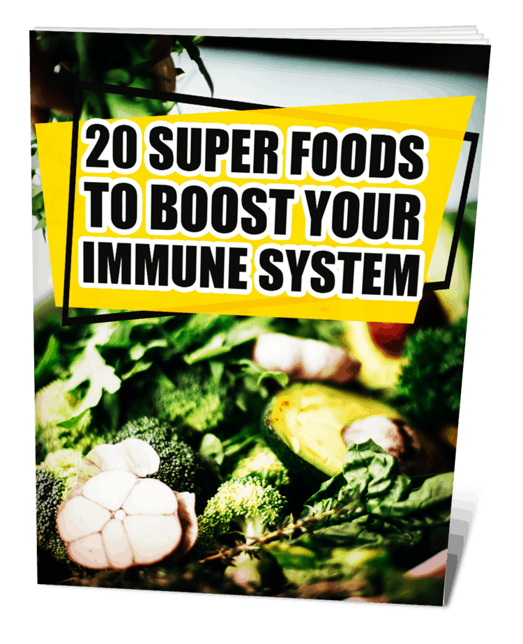 20 Super Foods To Boost Your Immune System MRR eBook
