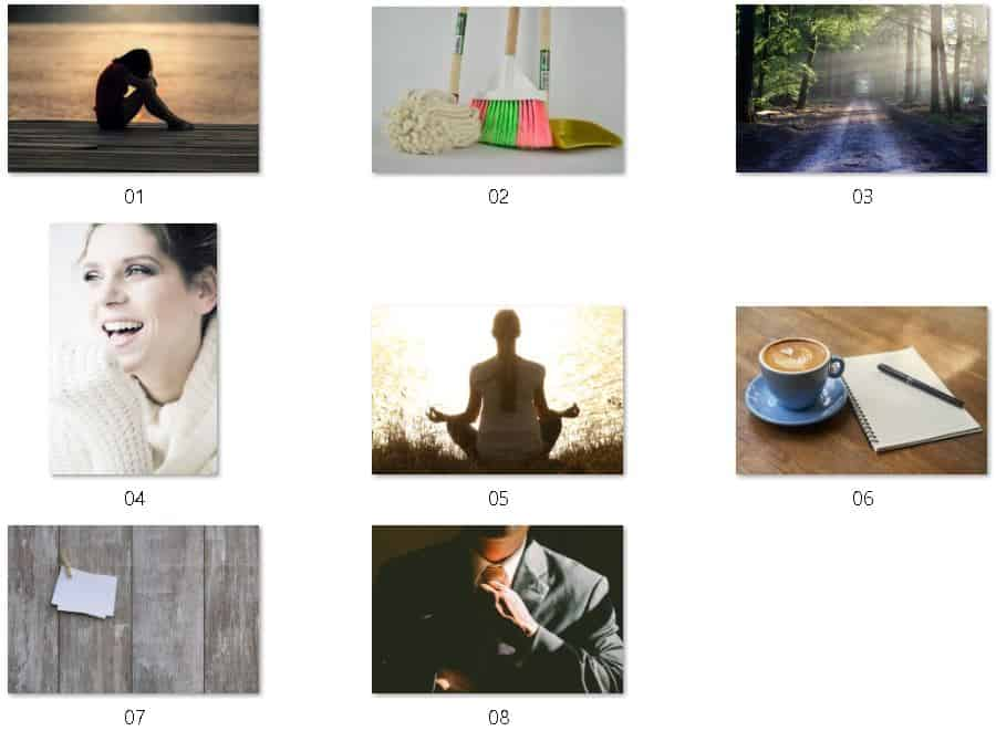 30 Day Mindset Overhaul Royalty Free Images