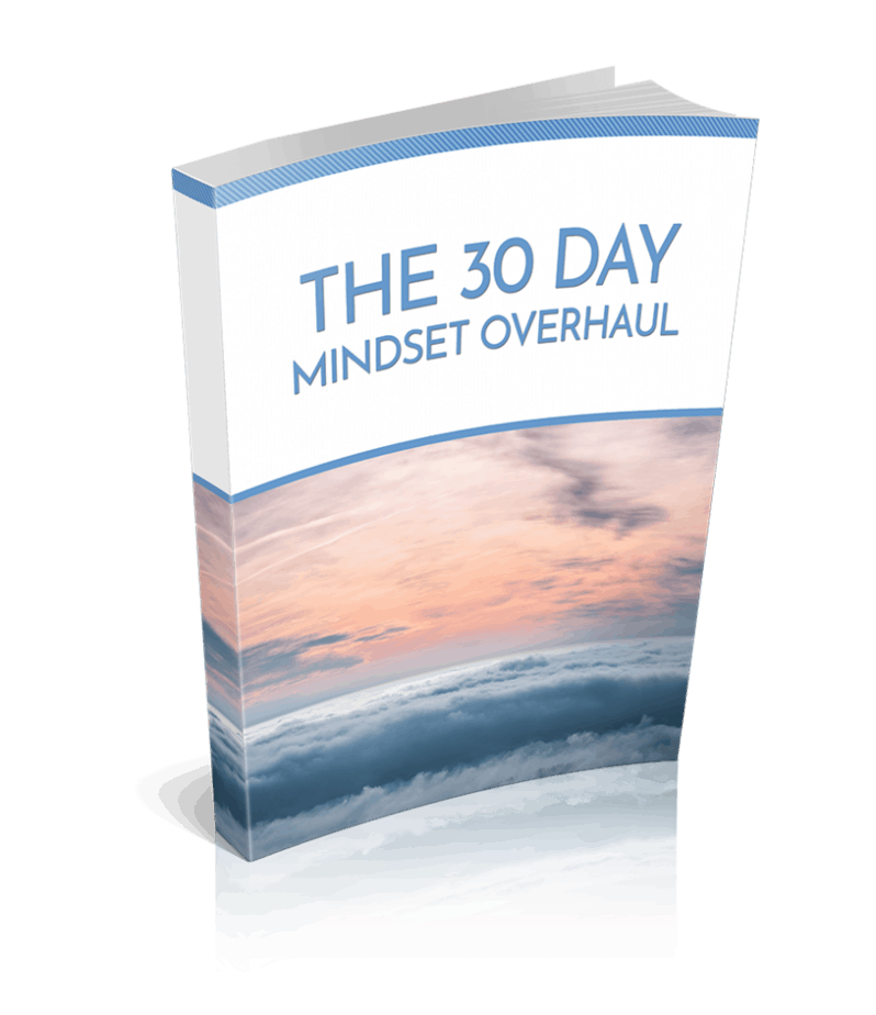 30 Day Mindset Overhaul Premium PLR Ebook