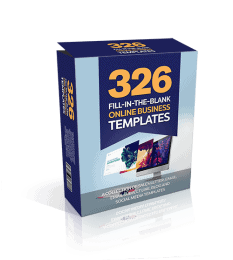326 Fill in the blank Online Business Templates