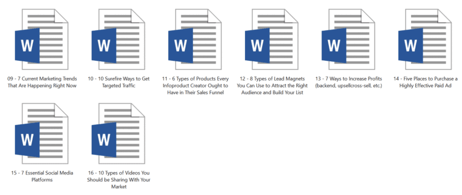 Article Library 20 Premium Internet Marketing Inside Look 2
