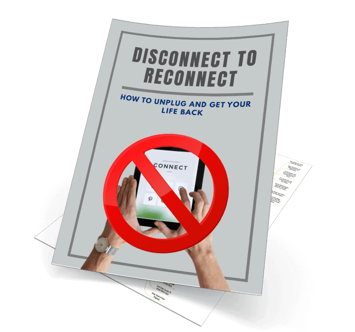 Disconnect To Reconnect Mindmap